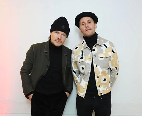 Duon muodostavat VilleGalle ja Jare kertovat olevansa todella innoissaan tulevasta keikasta.