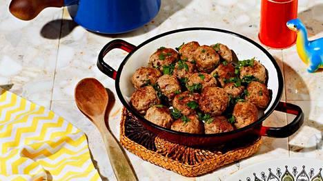 Pikaruokaa parhaimmillaan! Nämä lihapullat ovat hetkessä valmiita.