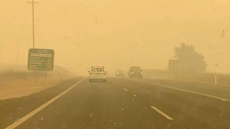 Canberran ilmanlaatu oli jopa 21 kertaa niin huono kuin vaarallisena pidetty raja.