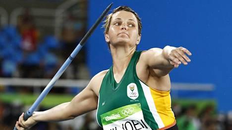 Sunette Viljoen voitti olympiahopeaa Riossa 2016.
