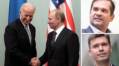 Biden ja Putin tapasivat Moskovassa vuonna 2011. Mika Aaltola ja Charly Salonius-Pasternak kommentoivat mahdollista huippukokousta Suomessa.