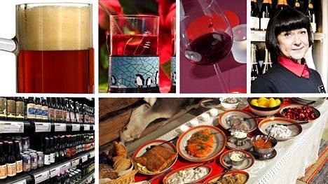 Alkon tuoteviestintäpäällikkö Taina Vilkunan mukaan joulupöydässä luotetaan perinteisiin. Alkoholittomien tuotteiden ja pienien viinipullojen menekki on nousussa.