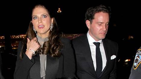Madeleine ja Chris saavat toisensa kuukauden päästä.