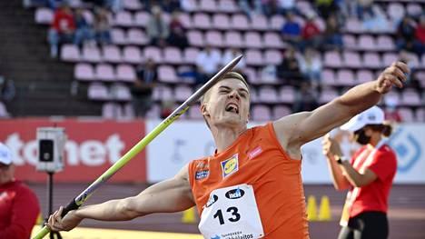 Oliver Helander onnistui Kalevan kisoissa.