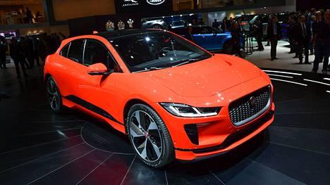Jaguarilla on tällä hetkellä vain yksi täyssähköauto, 2018 esitelty I-Pace.