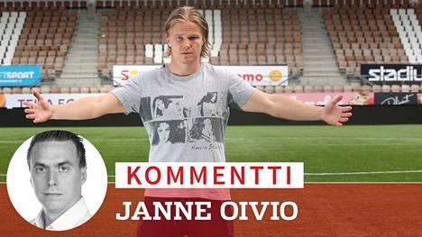 Petteri Forsell saapui suurin odotuksin HJK:hon kaksi vuotta sitten, mutta pesti ei ollut suurmenestys. Miten käy nyt Turussa?
