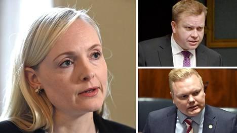 Sisäministeri Ohisalon haluaa ottaa perheettömiä turvapaikanhakijoita Kreikasta Suomeen. Hallituspuolueista keskusta ei ole heti näyttämässä vihreää valoa ehdotukselle.