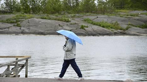 Luvassa viilenevää ja sateista säätä
