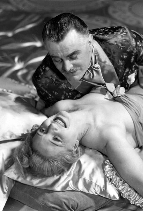 Ansa Ikonen ja Tauno Palo olivat valkokankaalla upea pari.