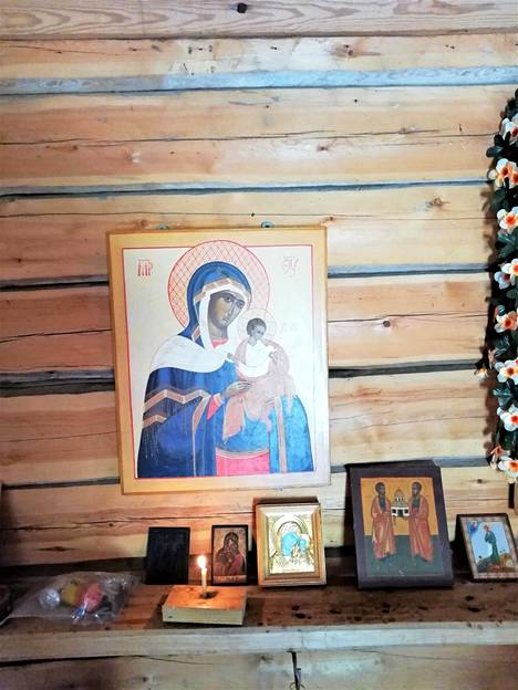 Terhi Norreksen maalaama ikoni herätti 21 vuotta sitten laajaa valtakunnallista huomiota.