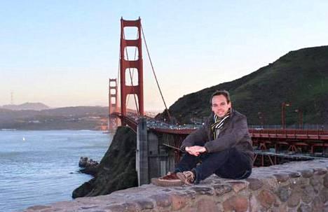 Andreas Lubitz oli julkaissut Facebookissa kuvan itsestään San Franciscon ikonisen Golden Gate -sillan kupeessa.