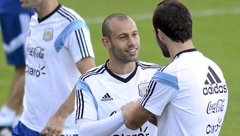 Javier Mascherano on Argentiinan puolustuksen kulmakivi.