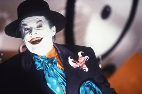 Jokeri vuosimallia 1989, jolloin maskin takana virnisteli Jack Nicholson.