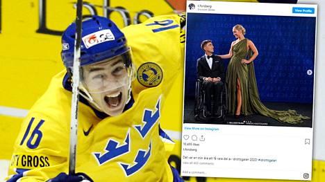 Tobias Forsberg ja Filippa Norr Richloow ovat menossa naimisiin.