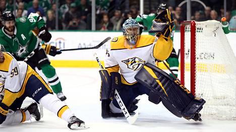 Pekka Rinteen ja Mikael Granlundin kausi ohi – Dallas pudotti Nashvillen NHL:n pudotuspelien toiselta kierrokselta