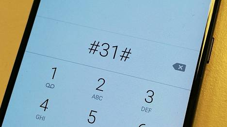 Kun näpyttelet puhelinnumeron tähän perään, vastaaja ei näe soittajan numeroa.