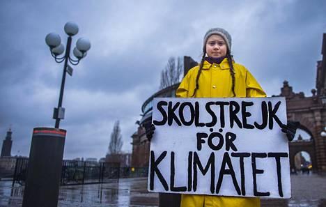 Suomalaistutkijan mukaan politiikka ja vaikuttaminen kiinnostavat nyt nuoria. 16-vuotias Greta Thunberg on antanut kasvot ilmastolakoille ja on ehdolla Nobelin rauhanpalkinnon saajaksi.