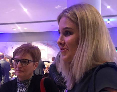 Ljubov Sobol osallistui Lennart Meri -konferenssiin viikonloppuna Tallinnassa.
