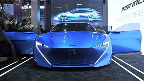 Peugeot'n konsepti näyttää vielä konseptilta.