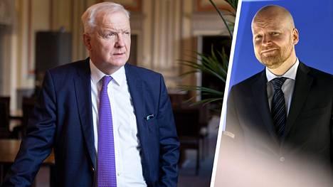 Suomen Pankin pääjohtajan Olli Rehnin mukaan noususuhdanteeseen siirryttäessä tulee ryhtyä tasapainottamaan julkista taloutta. Vasemmistoliiton eduskuntaryhmän puheenjohtaja Jussi Saramo katsoo, ettei kiristysten aika ole vielä ensi vuonna.