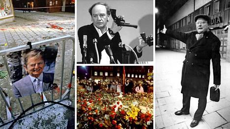 Pääministeri Olof Palmen murha on piinannut ruotsalaisia jo 34 vuoden ajan.