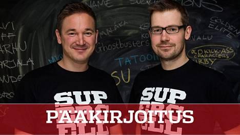 Supercell-kaksikko Ilkka Paananen (vas.) ja Mikko Kodisoja ovat myös Suomen parhaat veronmaksajat.