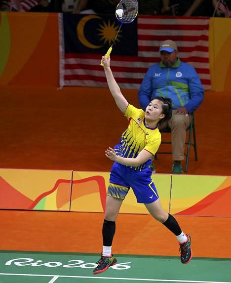 Malesian Jing Yi Tee hävisi Japanin Akane Yamaguchille 2–0.