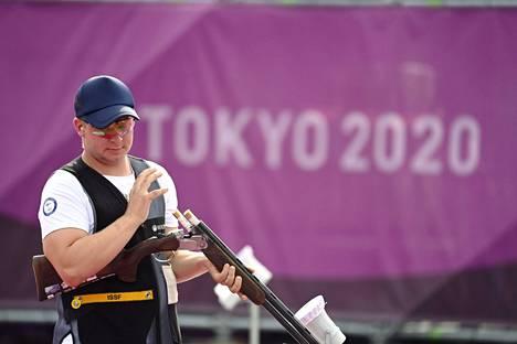 Eetu Kallioinen oli maanantain suomalaisnimi Tokiossa. Hän sijoittui skeet-ammunnan finaalissa neljänneksi.