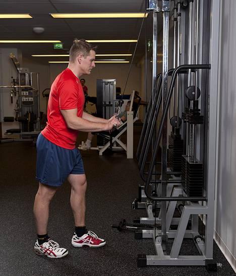 Vastalihakset vuoroittain treenaamalla säästät aikaa ja bonuksena saat buustia hapenottokykyyn.