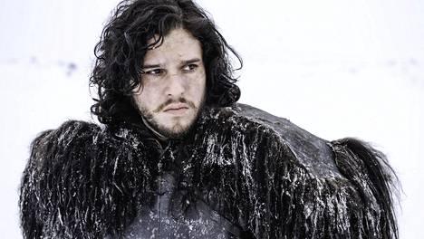 Jon Snow on yksi GoT:n suosikkihahmoista. Roolia esittää näyttelijä Kit Harington.