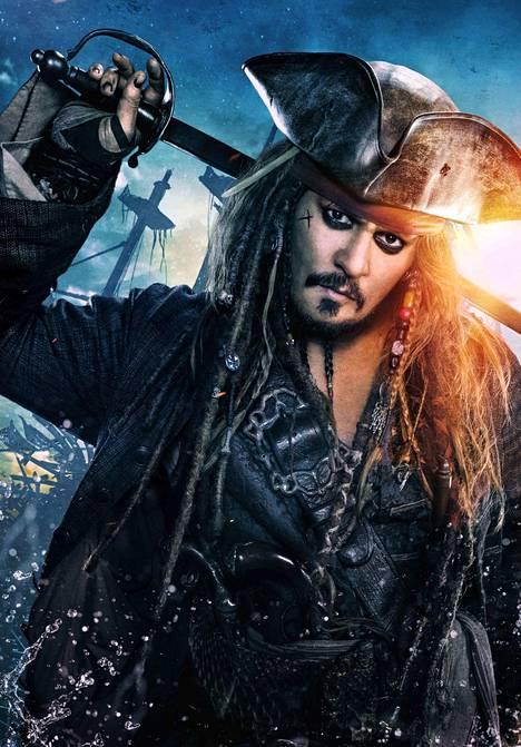 Johnny Depp on näytellyt Jack Sparrow'ta viidessä Pirates of The Caribbean -elokuvassa. Pirates of The Caribbean on yksi kaikkien aikojen menestyneimpiä elokuvasarjoja.