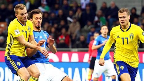 Ruotsi ja Italia taistelevat paikasta MM-kisoissa.
