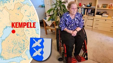 89-vuotias Esteri Kyngäs haluaa asua kotonaan niin kauan kuin se on mahdollista.