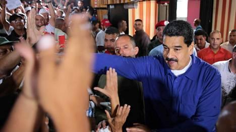 Venezuelan äänestystä on pidetty vain epäsuositun presidentti Maduron keinona kasvattaa valtaansa.