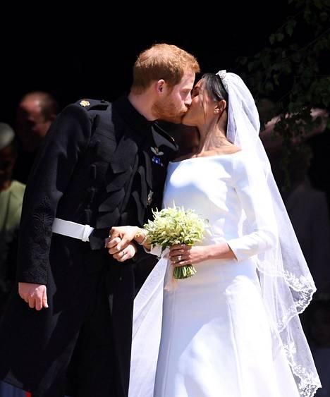 Harry ja Meghan avioituivat satuhäissä Windsorissa viime toukokuussa.
