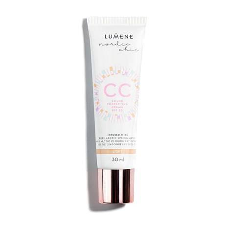 Lumene Nordic Chic CC Color Correcting Cream, 6 eri sävyä, 16,90 € / 30 ml.