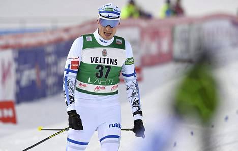 Manninen nousi huippuhiihdon myötä kilpailun lopputuloksissa 20:n sakkiin.