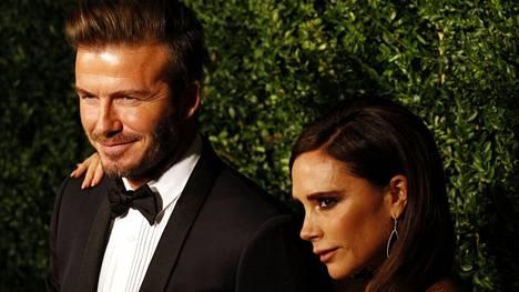 Beckhamit ovat olleet naimisissa jo 22 vuotta.