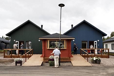 Lapinjärvitaloja on kehitetty yhteistyössä Aalto-yliopiston kanssa.