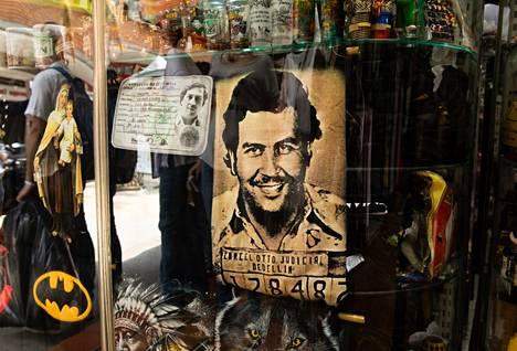Pablo Escobarista on tullut erilaisten kaupallisten tuotteiden kasvo.