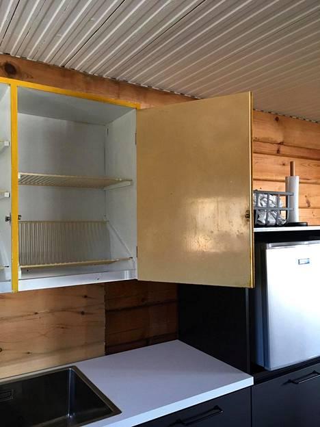 Keltaisella keittiökaapilla on tunnearvoa.