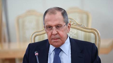 Sergei Lavrov oli kovasanainen.