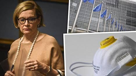 Kansanedustaja Paula Risikko on koko EU:n yhteisen hankintamekanismin idean äiti. Sopimus solmittiin 2014 ja Suomi liittyi sopimukseen kolmisen viikkoa sitten.
