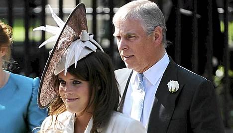 Prinsessa Eugenie on prinssi Andrewn tytär.