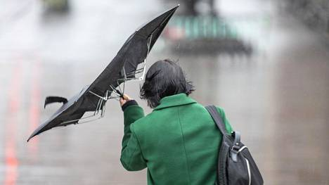 Kova tuuli on riepotellut tänään Suomea.