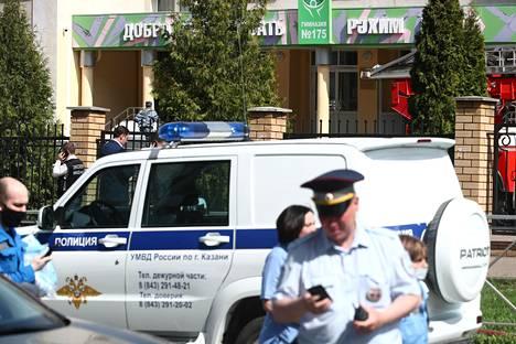 Kouluampuminen tapahtui Kazanissa koulussa numero 175.