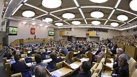 Duumassa keskusteltiin perjantaina muun muassa Venäjän ja Suomen välisistä suhteista.