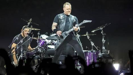 Metallica nähdään tänään ja ylihuomenna Suomessa.
