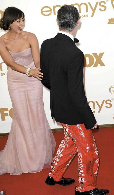 Rashida Jones ja Alan Cumming
