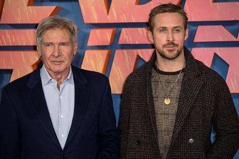 Blade Runner 2049 -elokuvaa tähdittävät Harrison Ford ja Ryan Gosling.